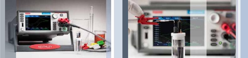 电化学实验室系统执行循环伏安测量