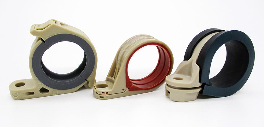 军用级组合电缆夹的五个关键特性