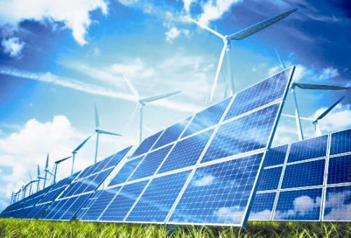 可再生能源为带海水淡化系统的抽水蓄能站提供动力
