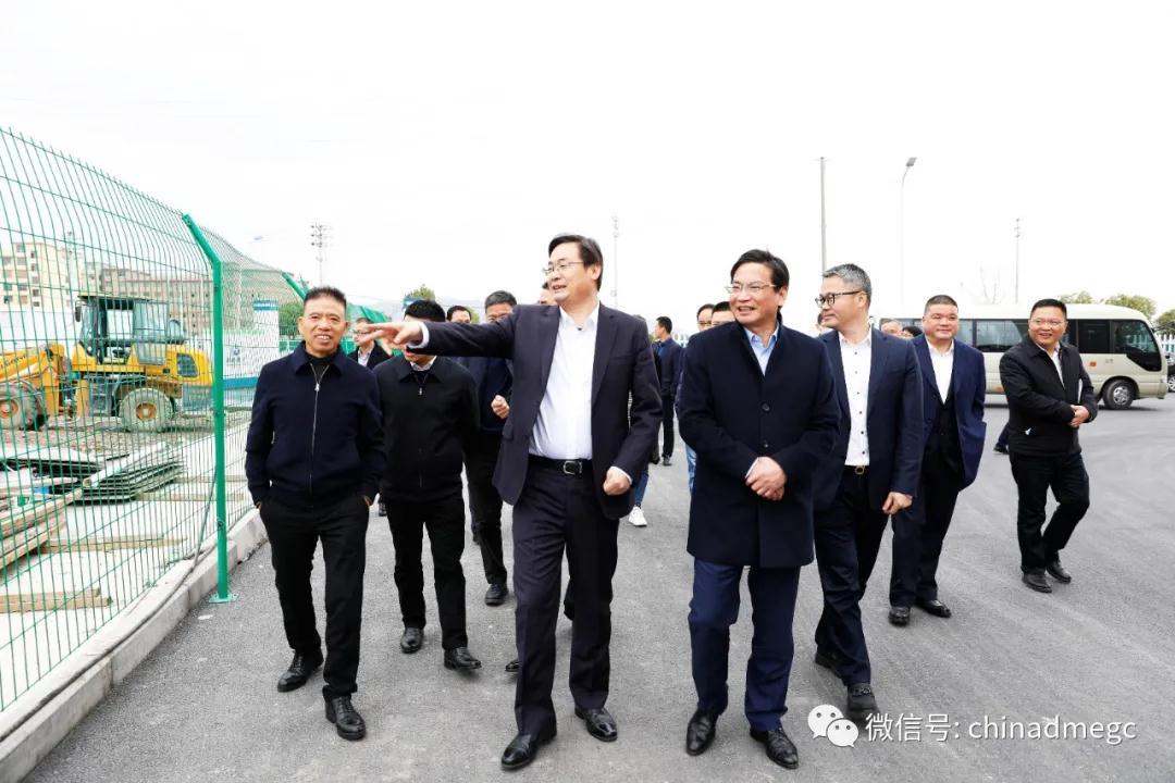 东阳市市长楼琅坚带队调研东磁节后复工复产方案