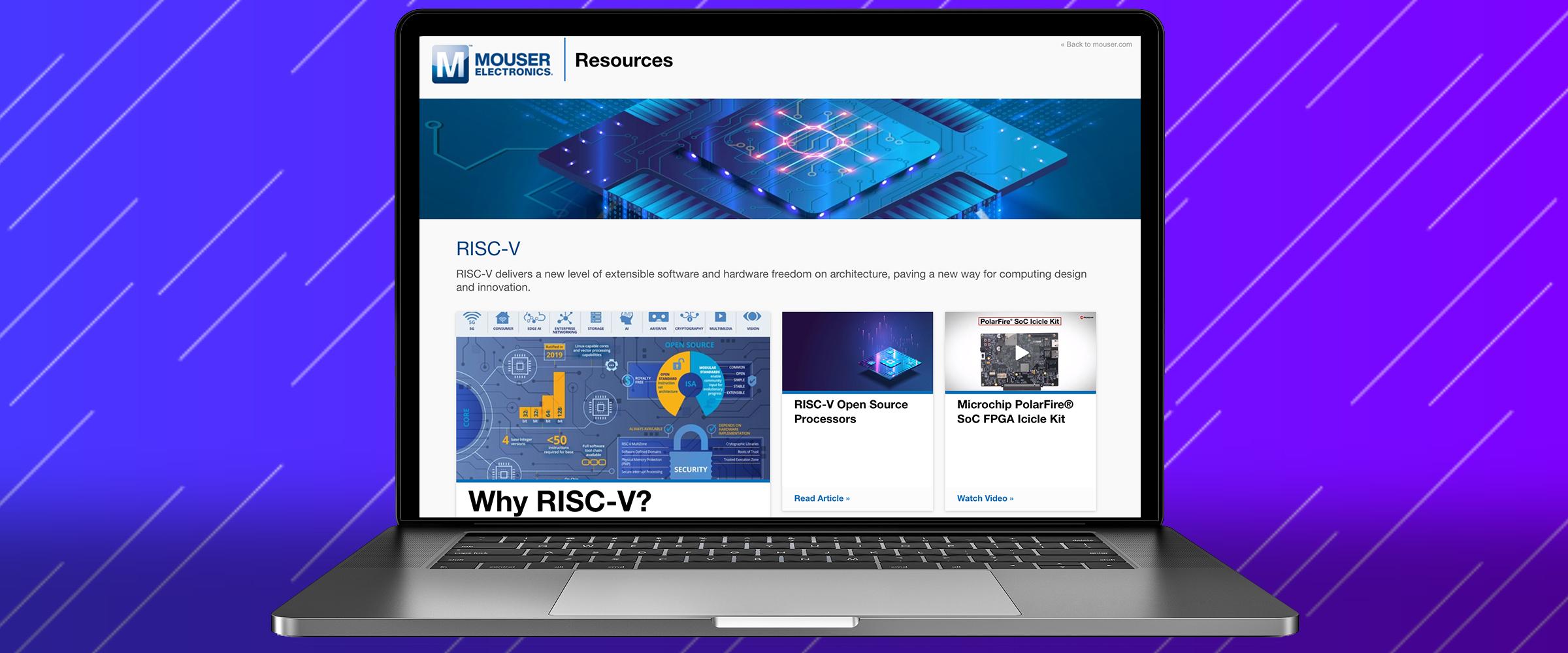贸泽电子发布全新RISC-V资源页面