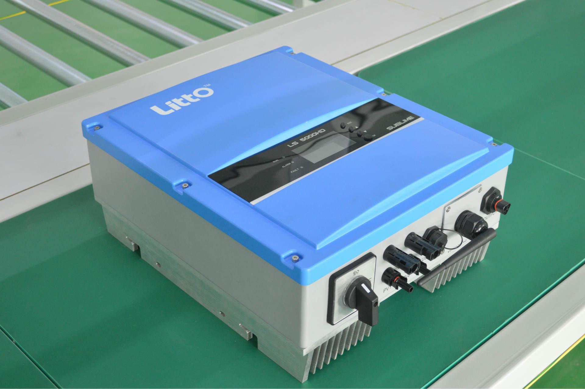 产能新增长!正泰电源泰国工厂首台逆变器顺利下线!