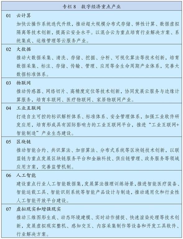 """物聯網,""""十四五""""規劃綱要中說了啥"""