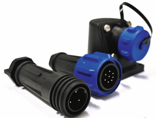 Bulgin推出9000系列Buccaneer圆形电源连接器