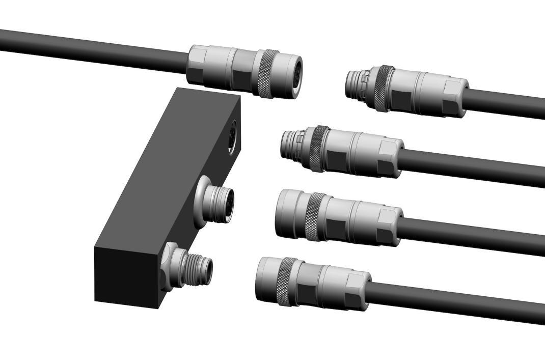 锁扣型M12推拉连接器的新标准