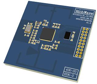 RTC6031 10GHz 微波雷达內建讯号处理感测器