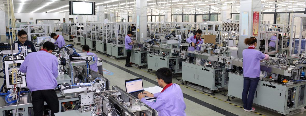 田中精机新型一体成型电感设备已推向市场