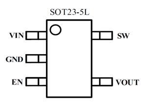 【热门】仅3颗外围/无EMI滤波器的40V转5V BUCK方案