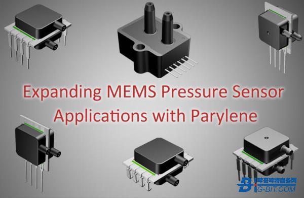 使用聚對二甲苯擴展MEMS壓力傳感器應用
