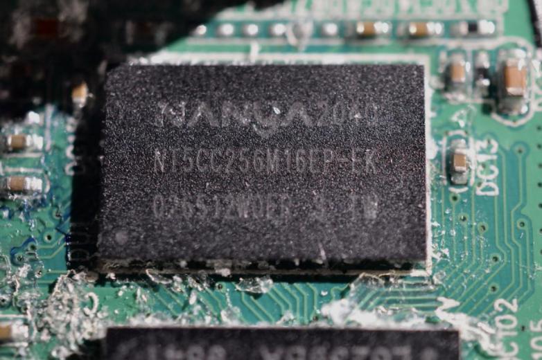 南亚(NANYA)NT5CC256M16EP 标准型 DRAM-DDR3 存储器芯片。