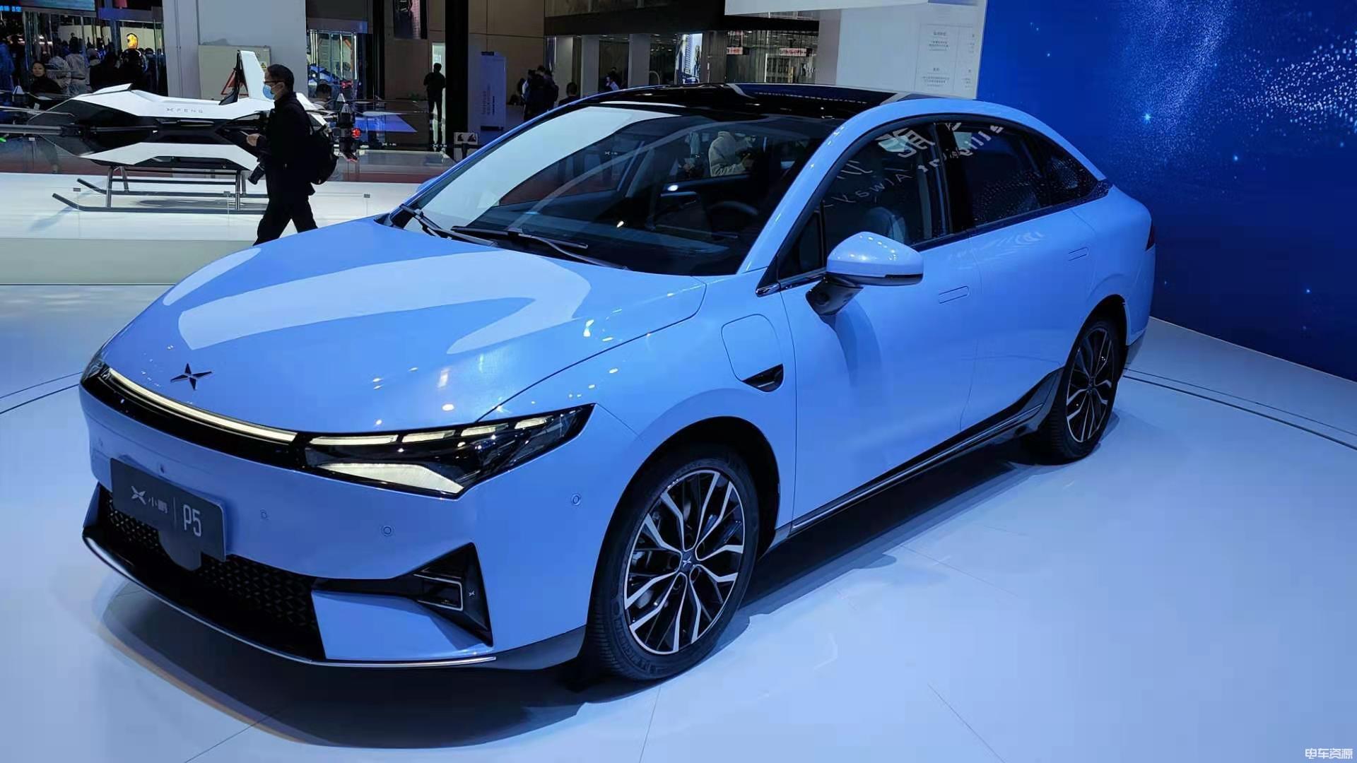 2021上海車展:小鵬P5正式亮相