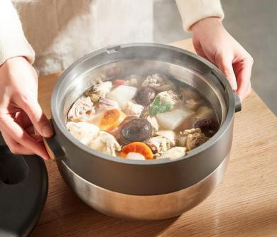 以顏值致生活,格蘭仕多功能電煮鍋盡現舒適烹飪