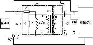 磁元件绕组损耗测量法的研究
