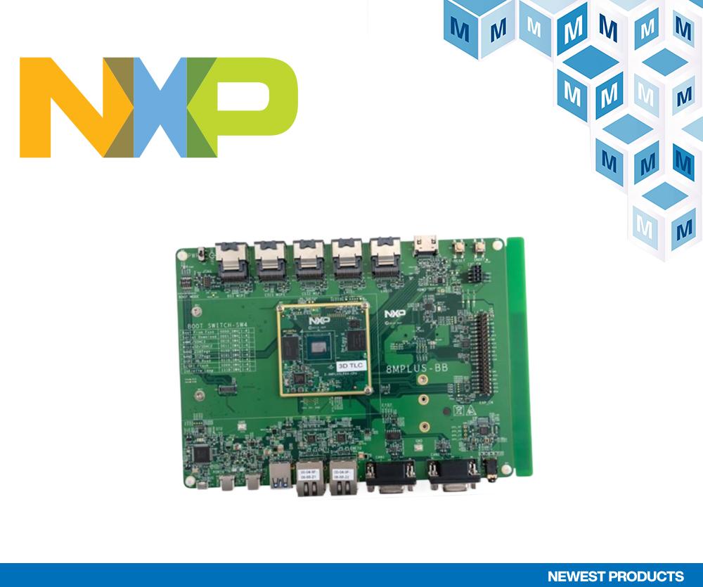 贸泽电子开售具有机器学习以及音视频功能的  NXP i.MX 8M Plus评估套件
