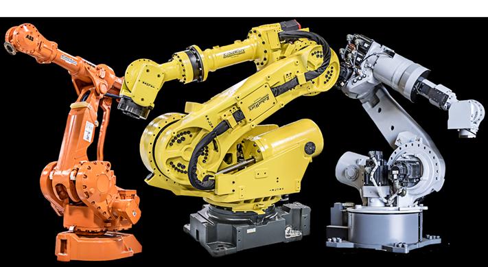 简析喷涂机器人的特点和适用范围