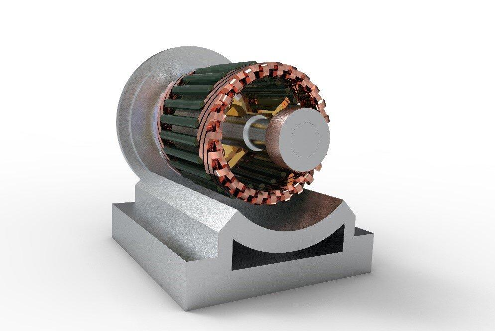 防爆交流伺服电机的构造和原理