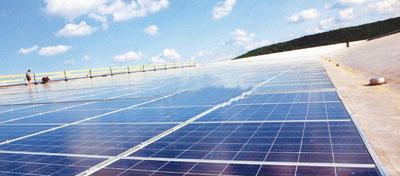 中国石化首座移动式光伏发电站正式投运