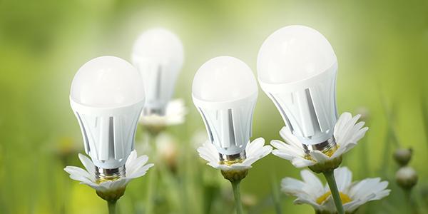 "LED灯的光效提升 散热器形成""烟囱式"""