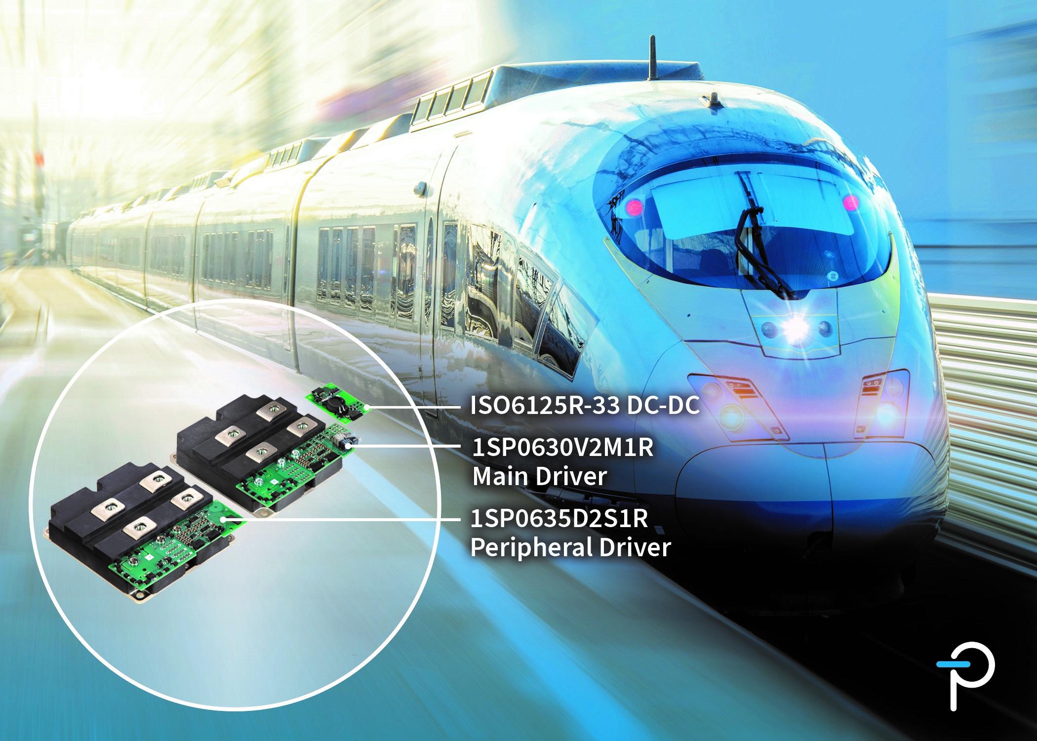 Power Integrations面向轨道交通应用推出新款外形紧凑、坚固耐用的SCALE-2即插即用型门极驱动