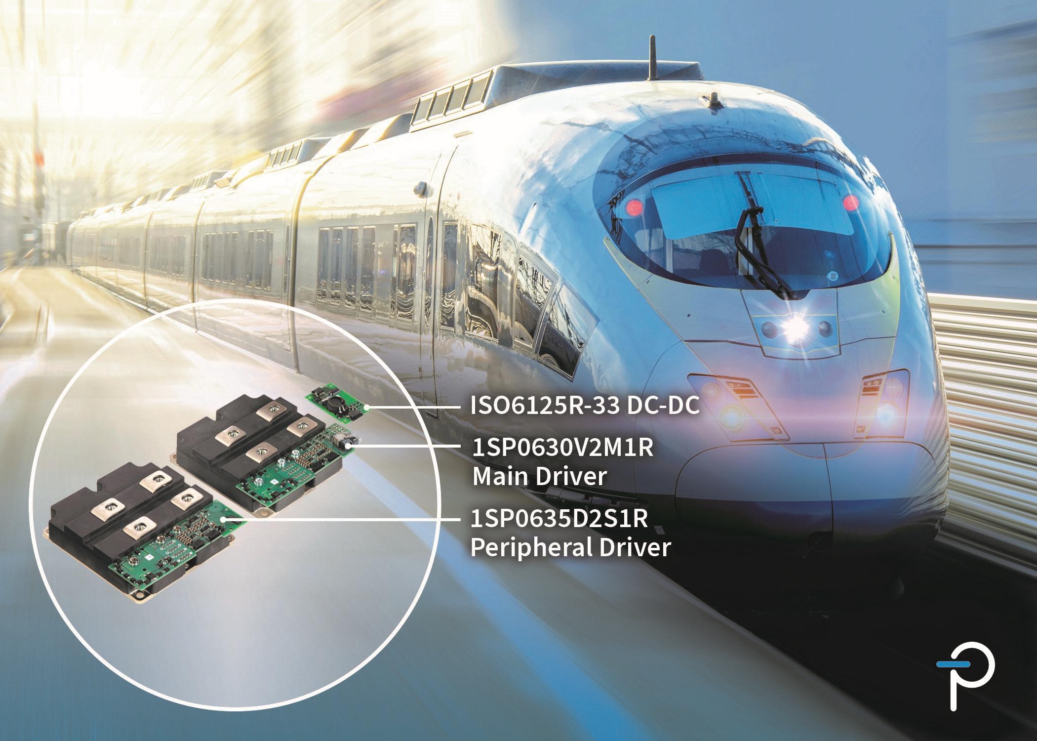 PI面向轨道交通应用推出新款外形紧凑、坚固耐用的SCALE-2即插即用型门极驱动