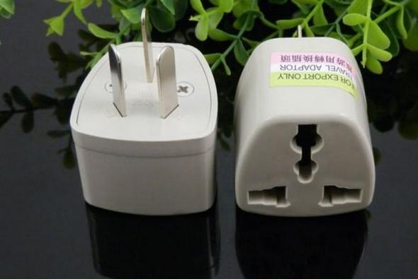 电源转换器不同国家类型也有所不同
