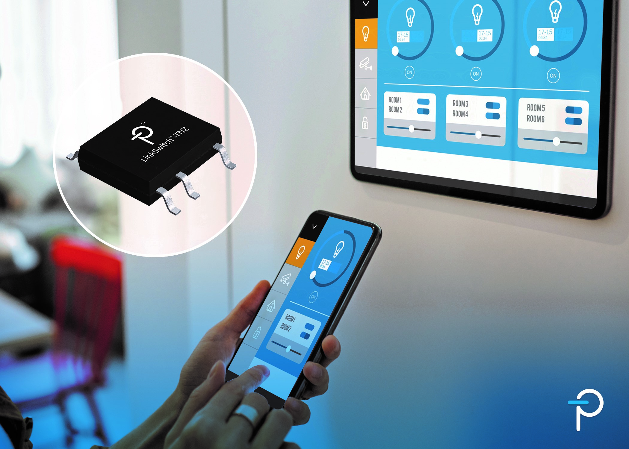 Power Integrations推出新型LinkSwitch-TNZ离线式开关电源IC,可实现无损耗过零点检测和X电容放电