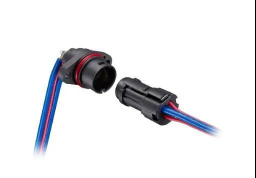 广濑电机开发小型、可支持20A大电流的防水圆形塑料连接器