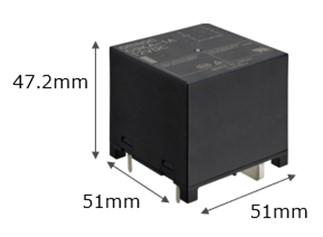 """欧姆龙正式发售实现低接触电阻的低发热高容量继电器""""G9KA"""""""