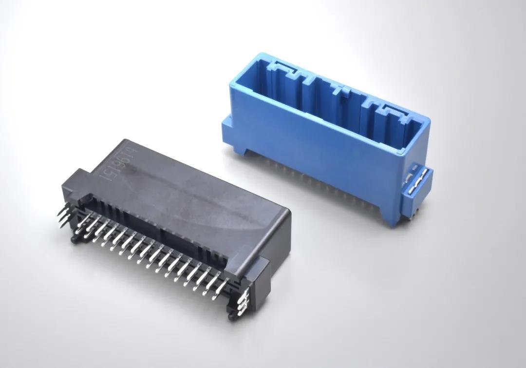 车载用「MX34系列」连接器进行产品阵容扩充,追加「MX34Q系列」通孔回流式垂直型产品