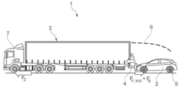 福特新专利:用房车或半卡车牵引电动汽车,为汽车充电