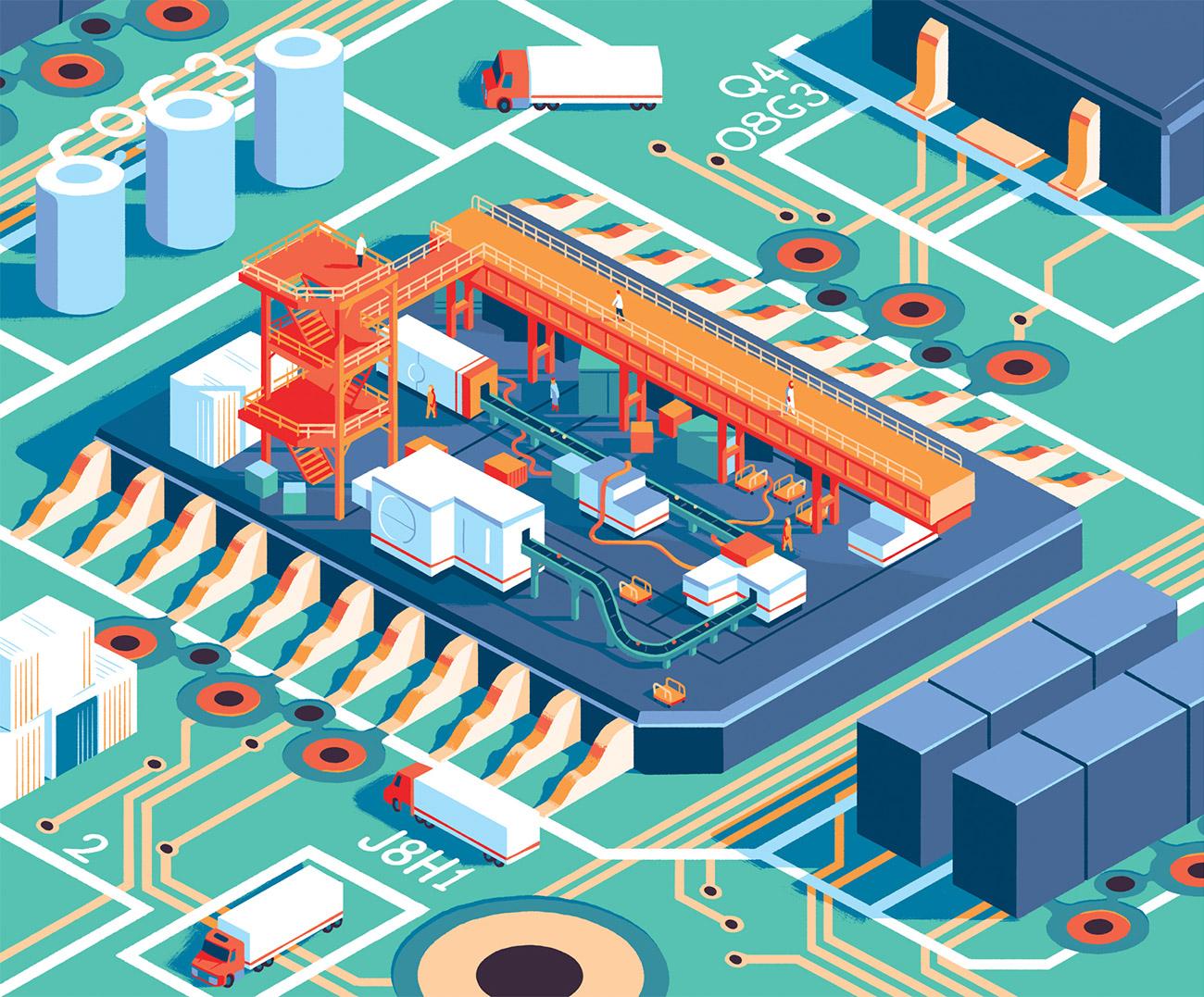欧美争取芯片国产化 台积电表态:不切实际、浪费数千亿美元