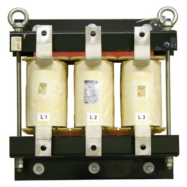 电抗器类型不同额定电流电压的挑选