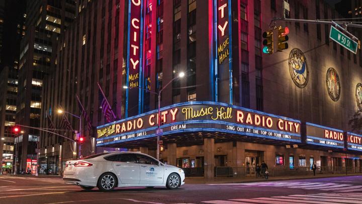 又一城:Mobileye在纽约测试自动驾驶车辆