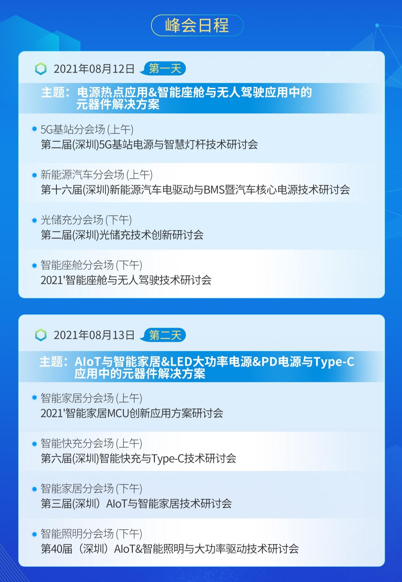 2021'中国电子热点解决方案创新峰会