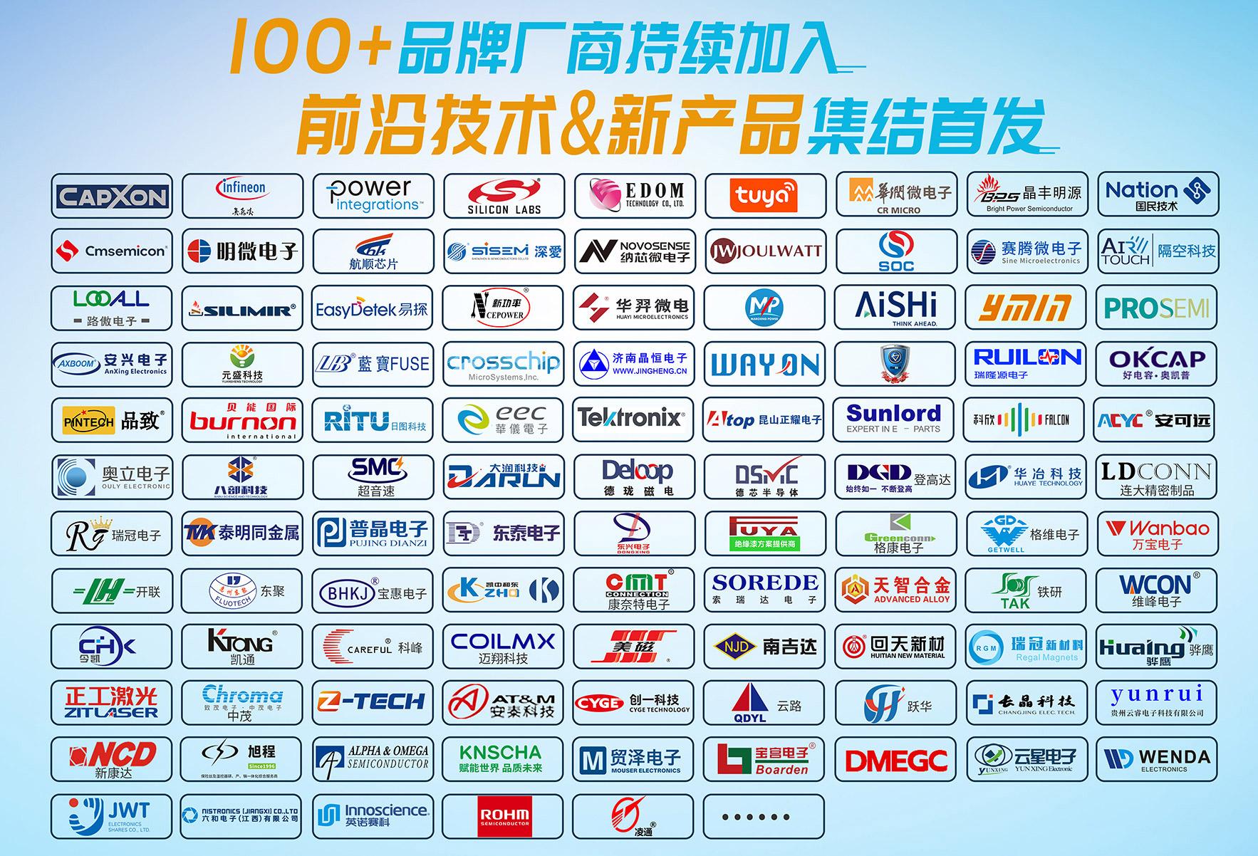 电子峰会参展企业