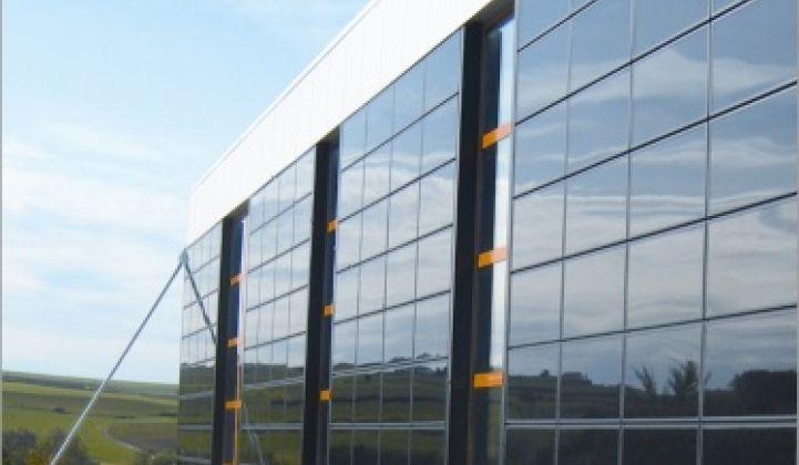 彩虹新能源彩虹(合肥)光伏超薄高透光电玻璃项目窰炉点火