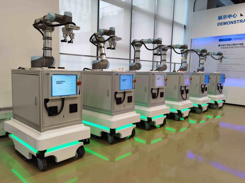 MiR自主移动机器人持续开拓复合运用场景 为中德智能制造研究院打造柔性化生产新标杆