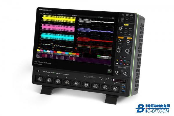 力科发布带宽高达2GHz的8通道示波器WaveRunner 8000HD