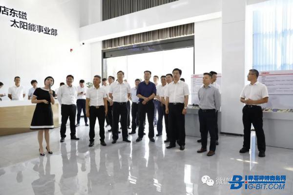 浙江省委常委、常务副省长陈金彪一行调研东磁