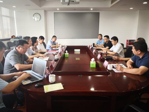 舟山市发改委接洽深圳北斗航天智能科技有限公司先进分布式储能项目