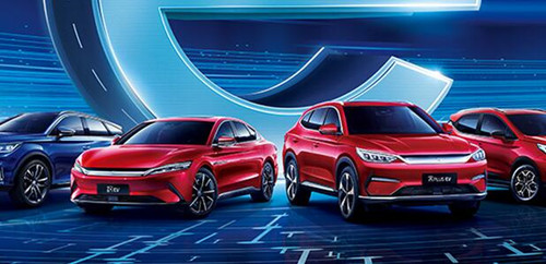 比亚迪新能源汽车7月产销量均超过5万辆 是去年同期3倍多