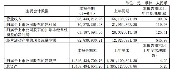 芯朋微:上半年净利同比翻一番 电源管理芯片需求持续