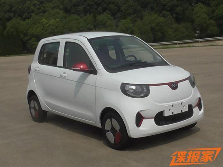 小巧可爱 东风汽车纯电动轿车申报图