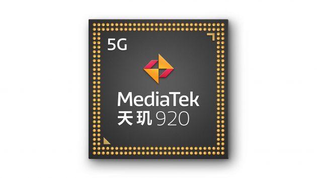 联发科发布天玑920和天玑810 5G移动芯片