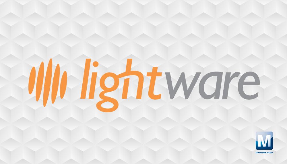 贸泽电子与LightWare LiDAR签署全球分销协议