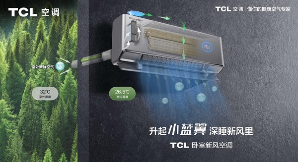 """为过敏星人投下""""防护罩"""",TCL卧室新风空调""""智斗""""脏空气"""