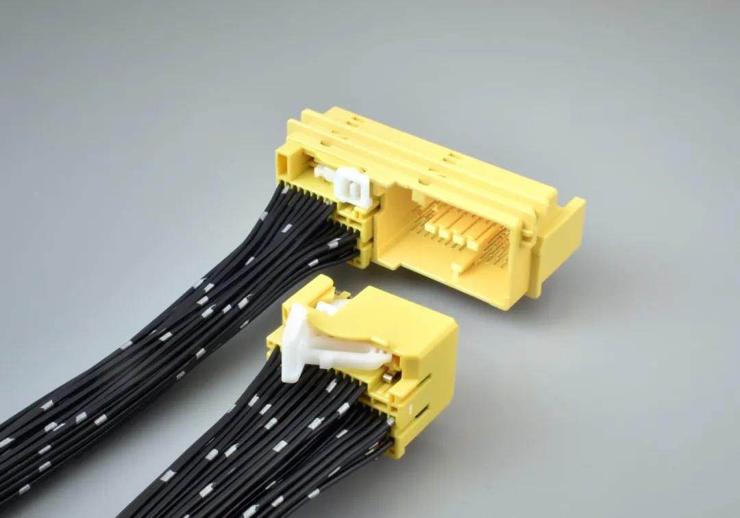 关于JAE MX67A系列车载安全气囊ECU用多极连接器