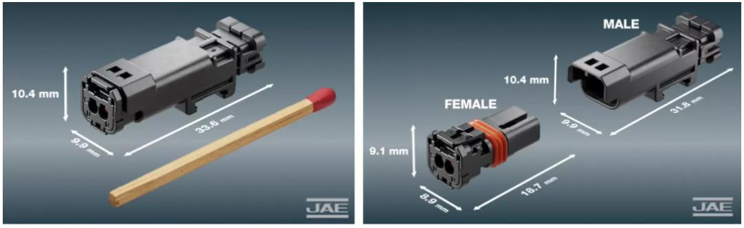 关于JAE MX80系列车用级小型防水连接器