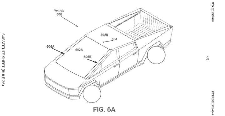 特斯拉获新专利 Cybertruck折纸式挡风玻璃和仪表板