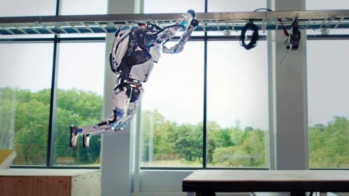 波士顿动力传授Atlas机器人新技能——跑酷
